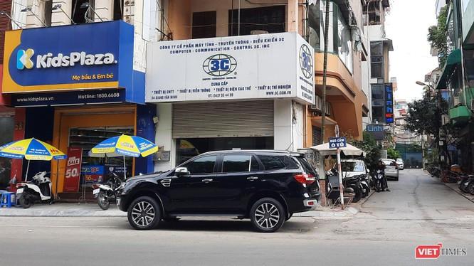 Trụ sở 3C Inc trên đường Giang Văn Minh (Hà Nội)