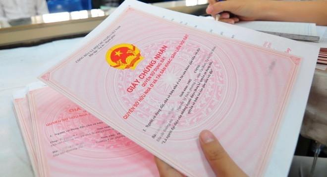 Từ hôm nay, làm sổ đỏ không cần nộp bản sao giấy tờ tùy thân