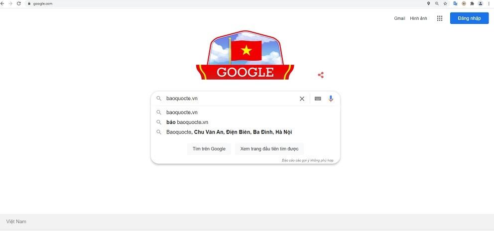 76 năm Quốc khánh 2/9: Google 'thay áo' chào mừng ngày lễ lớn của Việt Nam