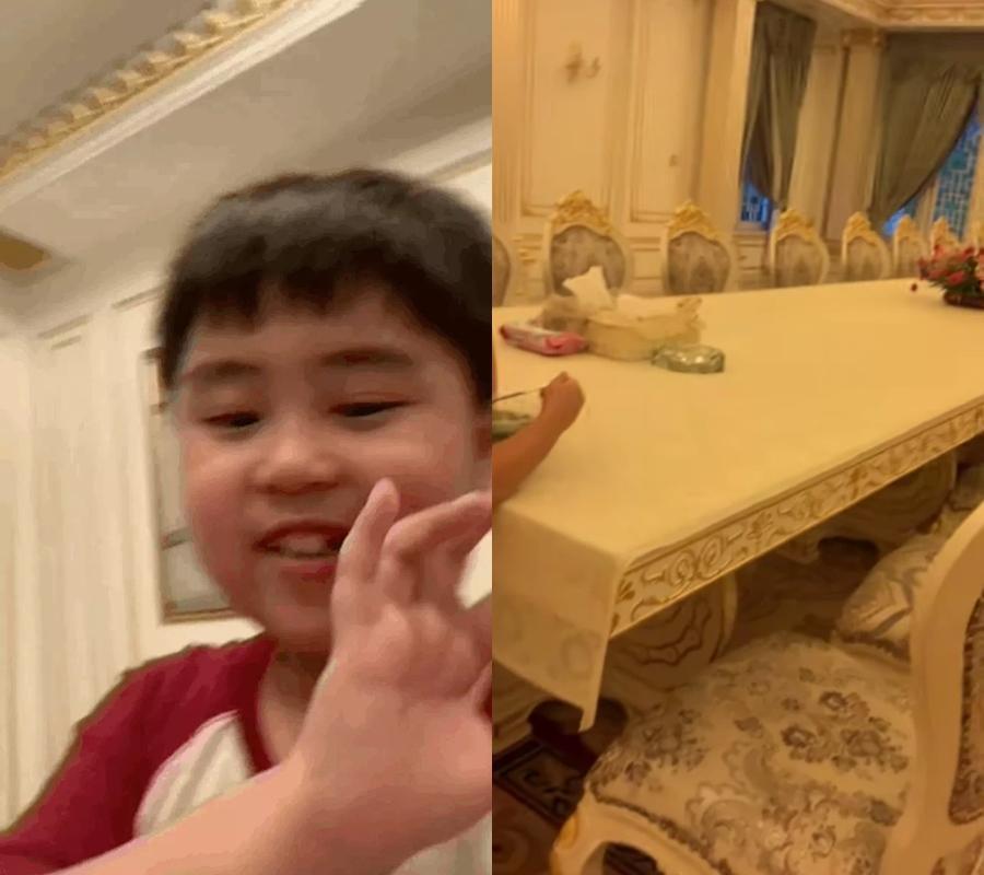 Tỷ phú 9 tuổi thừa kế khối tài sản 6000 tỷ tập tành review đồ ăn-2