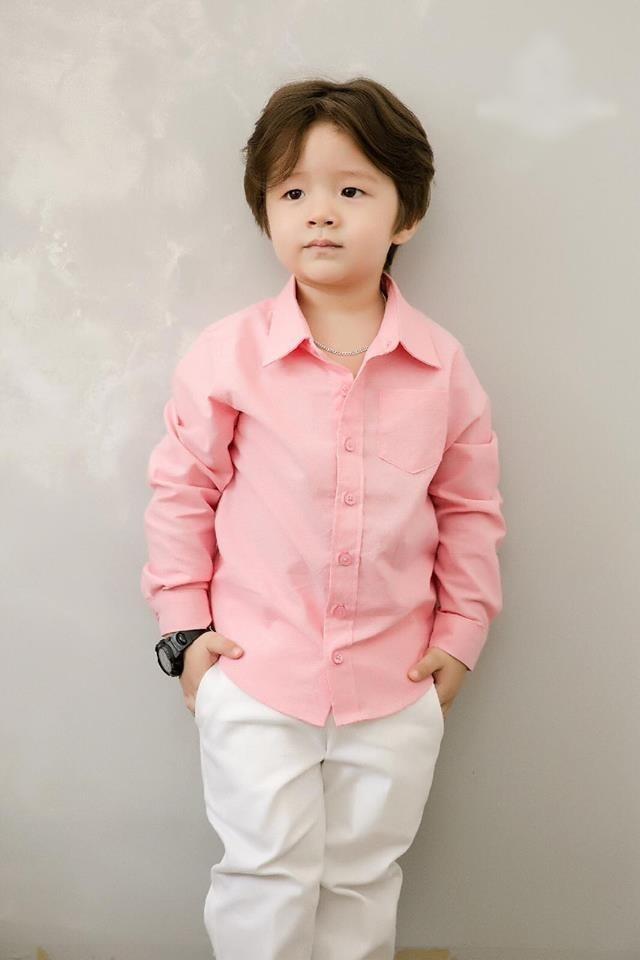 Quý tử nhà sao Việt tóc dài bồng bềnh, có bé trông như con gái-3