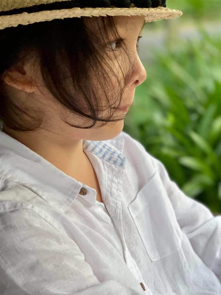 Quý tử nhà sao Việt tóc dài bồng bềnh, có bé trông như con gái-5