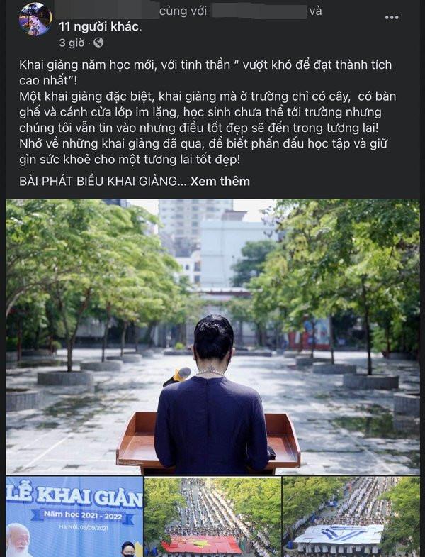 Bài đăng gây chú ý trên mạng xã hội (Ảnh chụp màn hình)