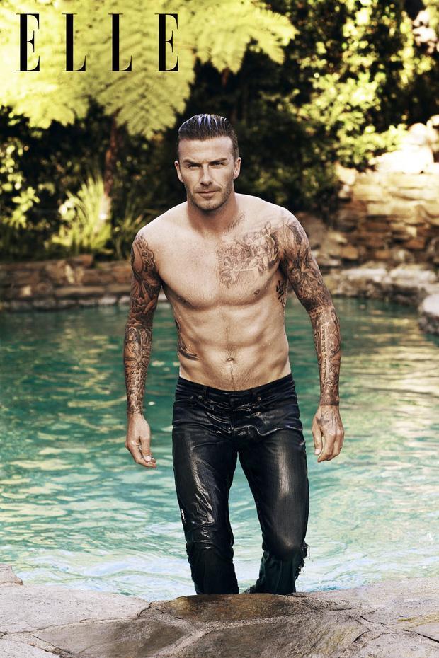 David Beckham phô cả nửa vòng 3 ở hồ bơi, lồ lộ body như tạc-5
