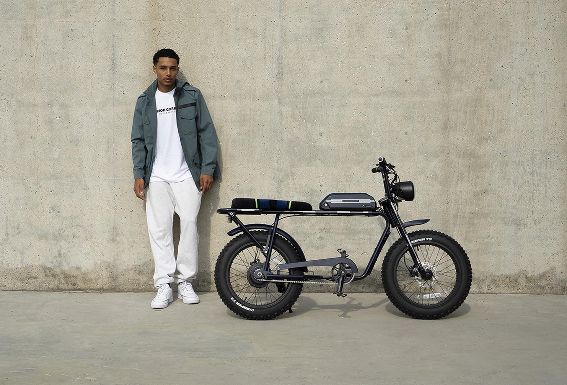 Mẫu xe đạp điện với thiết kế phá cách