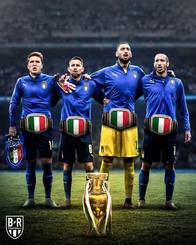 ĐT Italia nối dài chuỗi trận bất bại lên con số 36. (Ảnh: Bleacher Reports)