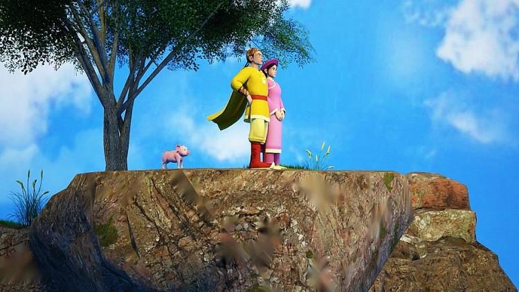 'Phim hoạt hình 3D - Cổ tích Việt Nam' thu hút các bạn nhỏ qua bài học từ cậu bé Tích Chu, 'Vua Heo'