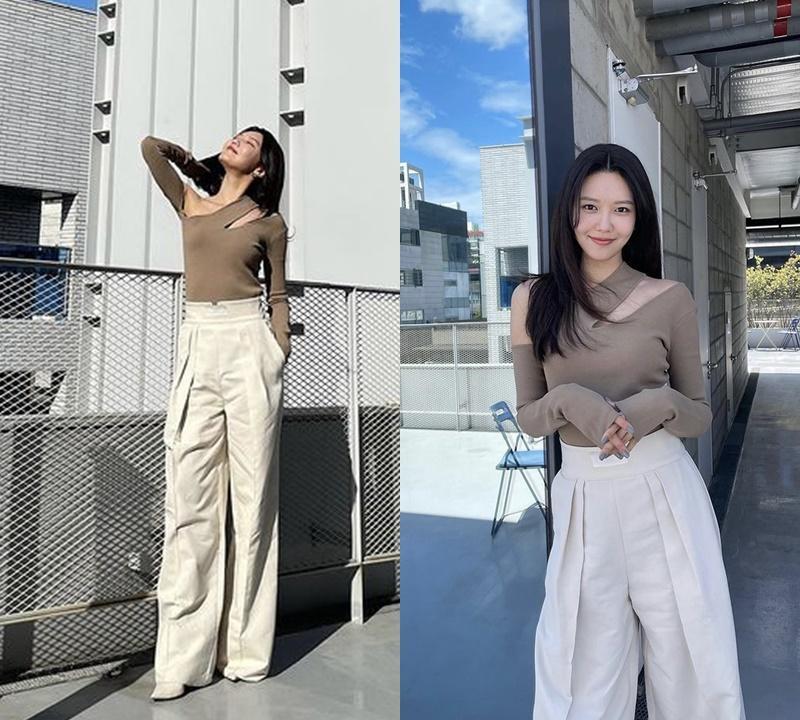 Dàn nữ idol Hàn Quốc khoe street style ngày thu đẹp ngất ngây-4