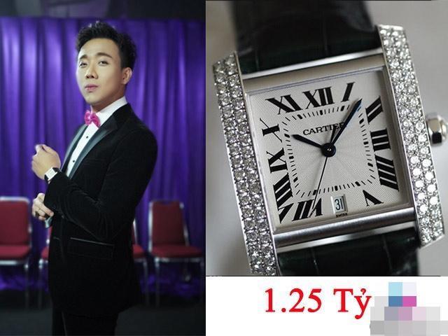 Bộ sưu tập đồng hồ chục tỷ đồng của MC Trấn Thành-8