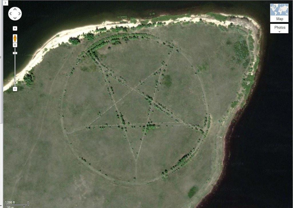 6 địa điểm cực dị và bí ẩn được biết đến nhờ Google Maps - 2