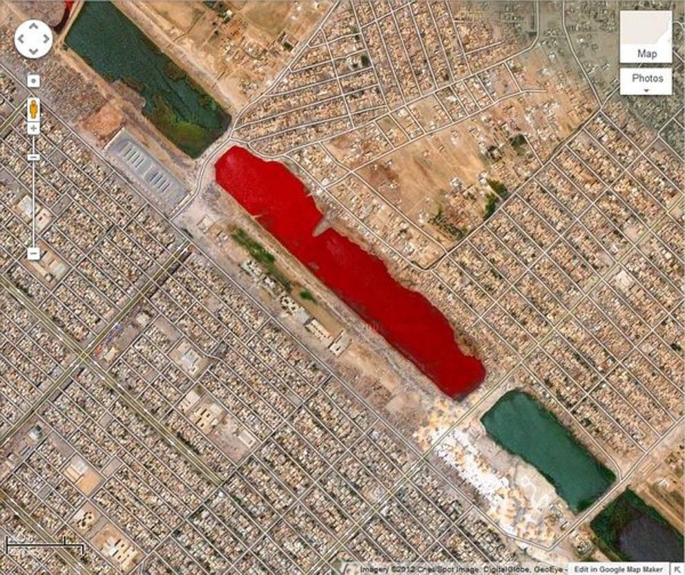 6 địa điểm cực dị và bí ẩn được biết đến nhờ Google Maps - 6