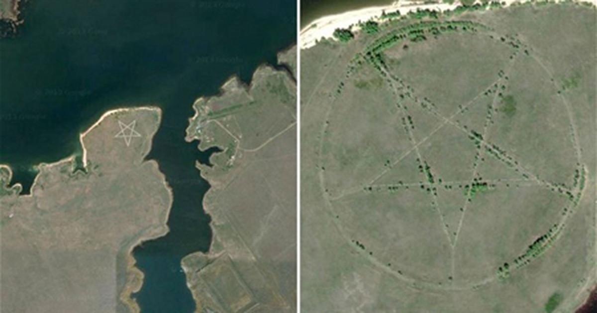 6 địa điểm cực dị và bí ẩn được biết đến nhờ Google Maps - 3