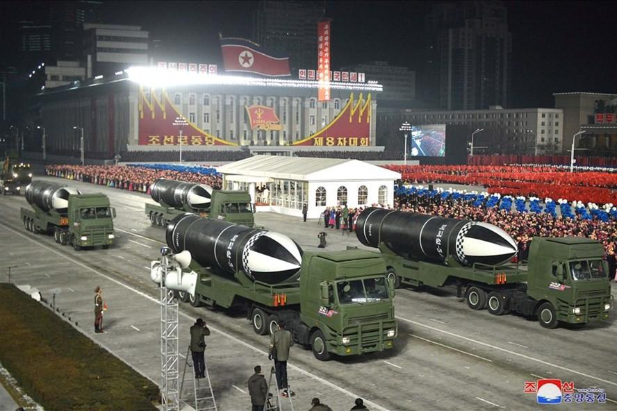 Triều Tiên đã có hành động trong đêm 8/9? (Nguồn: KCNA)