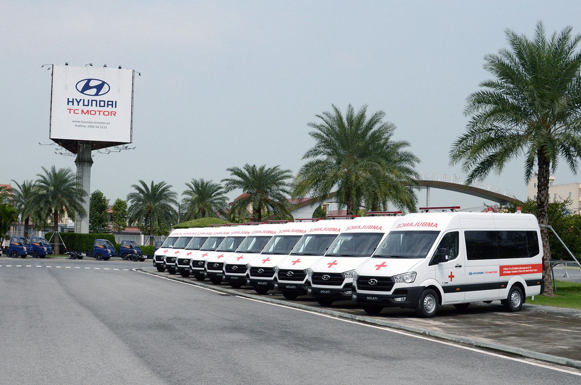 Dàn xe Hyundai Solati cứu thương