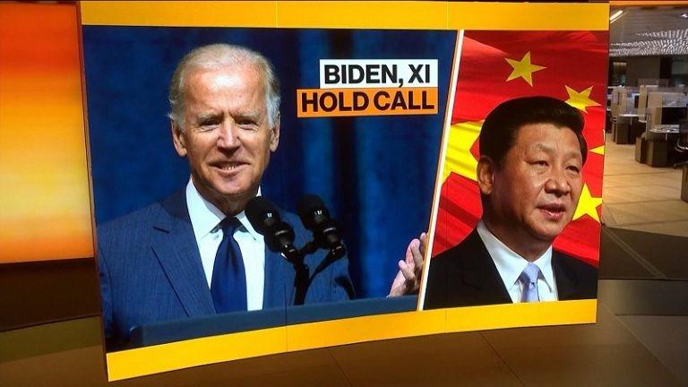 Sau hơn nửa năm, lãnh đạo Mỹ, Trung Quốc điện đàm tìm kiếm đảm bảo. (Nguồn: Bloomberg)
