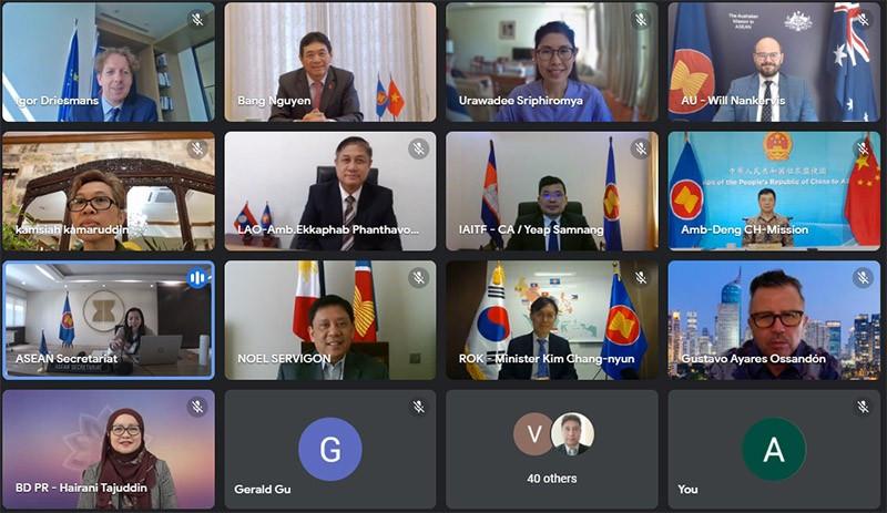 Cuộc họp Tham vấn lần thứ 11 của Nhóm Đặc trách IAI với các đối tác của ASEAN.