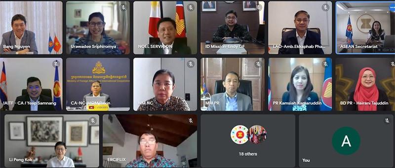 Cuộc họp lần thứ 65 của Nhóm Đặc trách Sáng kiến Liên kết ASEAN.