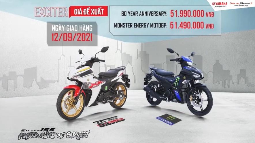 Giá lăn bánh xe Yamaha Exciter 155 VVA mới nhất