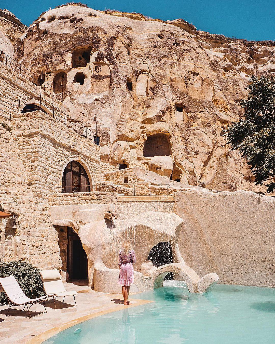 Khách sạn hang đá ở Thổ Nhĩ Kỳ 'sang chảnh' không kém resort nổi tiếng - 6