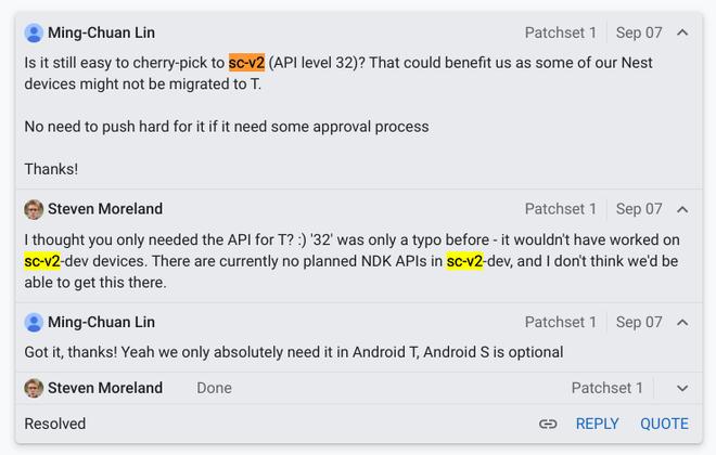 Phiên bản Android tiếp theo có thể là Android 12.1 thay vì Android 13 - Ảnh 2.