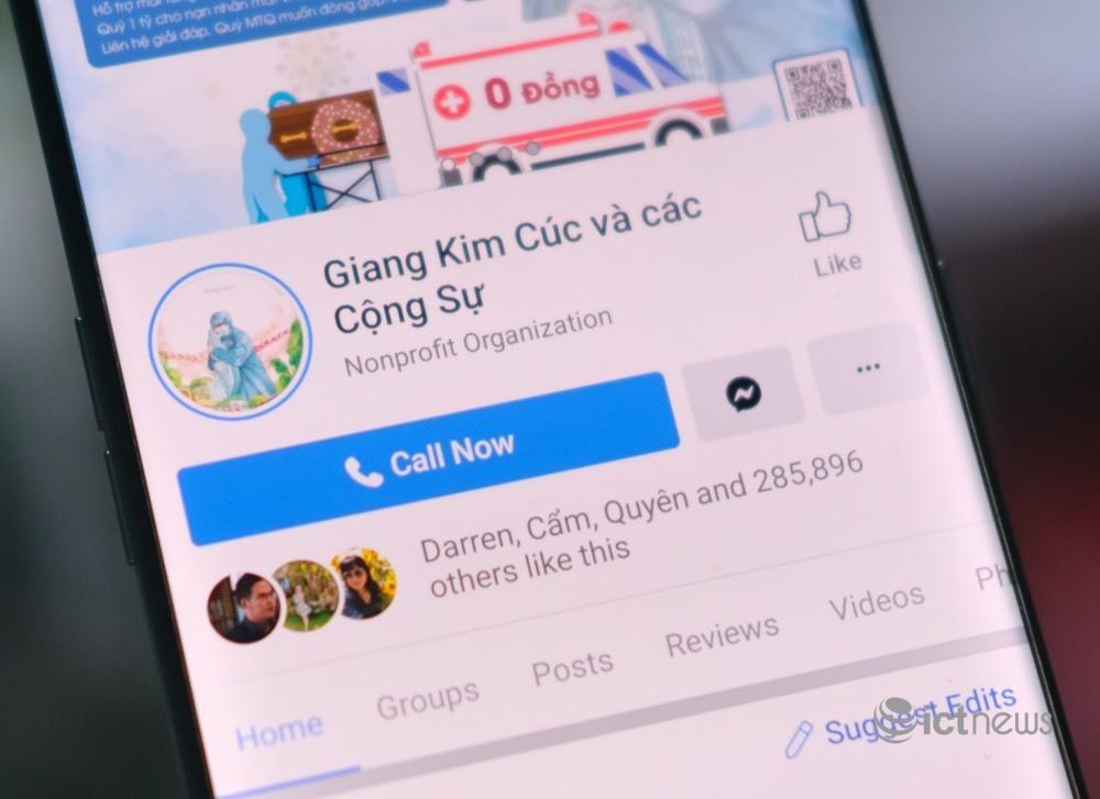 Chủ trang 'Giang Kim Cúc và các Cộng sự' bị phạt vì thông tin sai sự thật