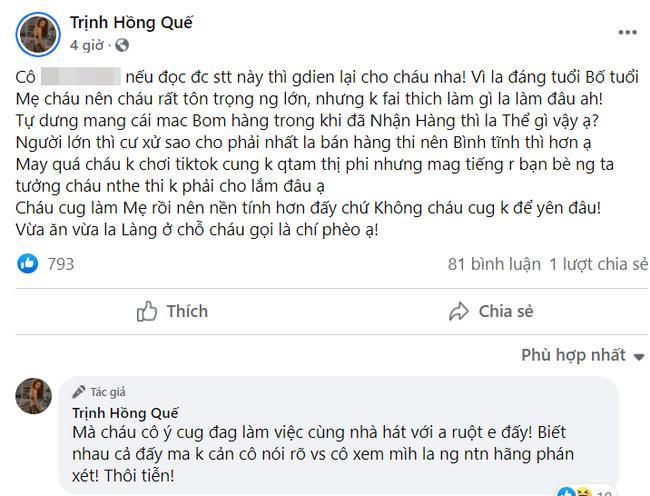 Hot TikToker chỉ trích Hồng Quế ăn cắp sau vụ tố bom hàng-1