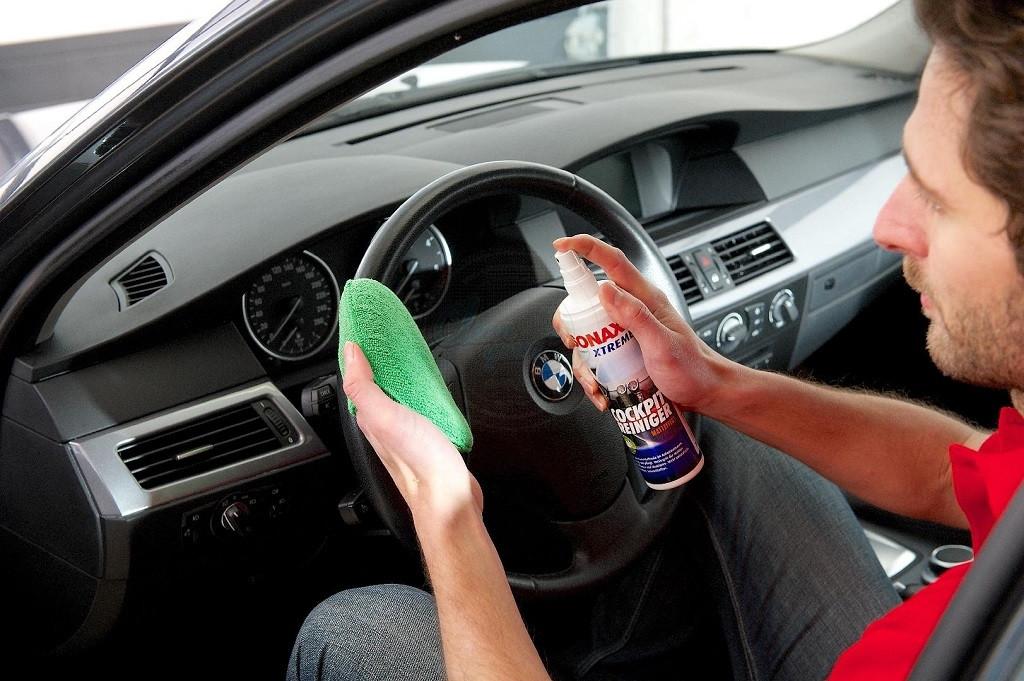 dung dịch vệ sinh ô tô