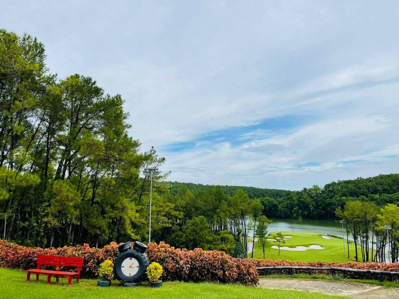 Sân golf Tràng An (Ảnh: Trang An Golf & CC)