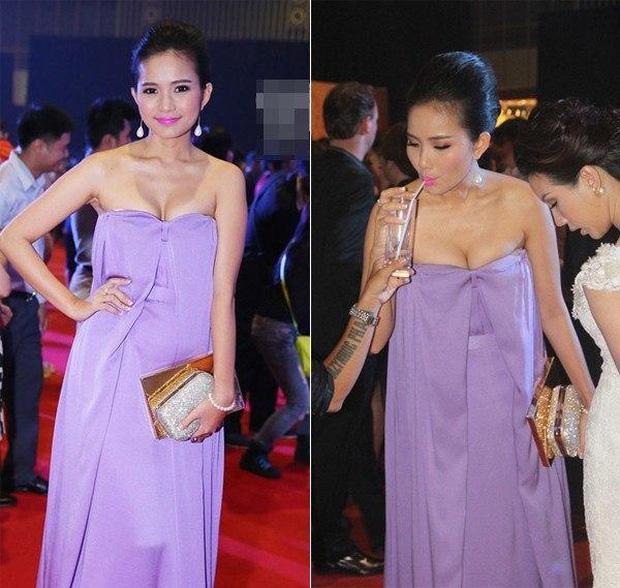 Phan Như Thảo đạt kỷ lục mắc vài lỗi trang phục với một chiếc đầm-2