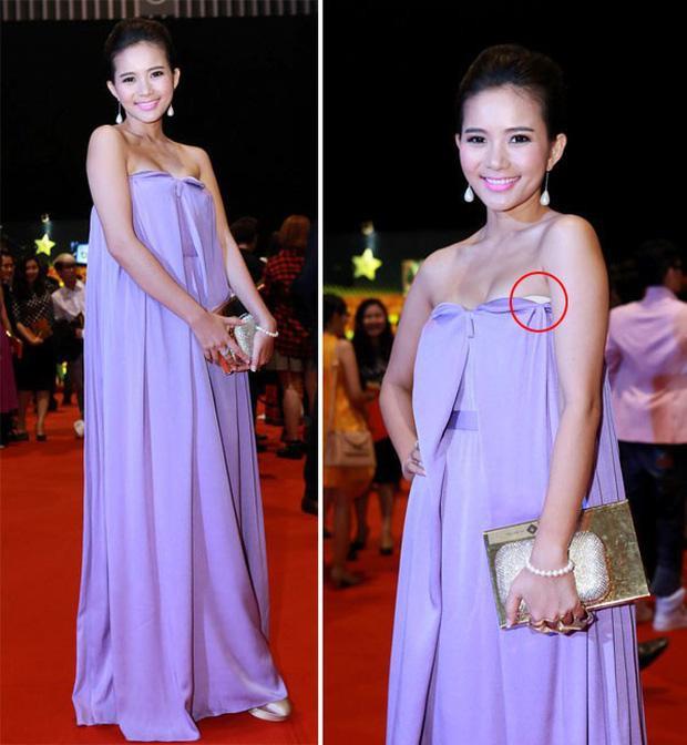 Phan Như Thảo đạt kỷ lục mắc vài lỗi trang phục với một chiếc đầm-4