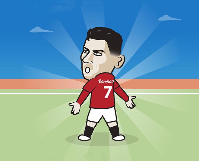 Ảnh chế: Ronaldo chói sáng ngày trở lại, đưa MU lên thẳng ngôi đầu - 2
