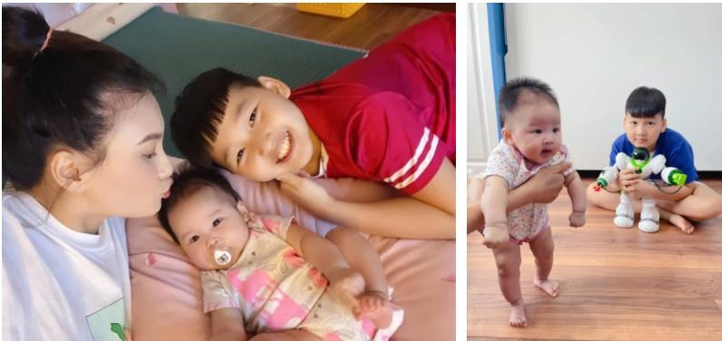 Sợ con trai tủi thân khi mẹ đẻ em bé, Bảo Thanh được khen khéo nuôi con vì làm điều này hàng ngày-3