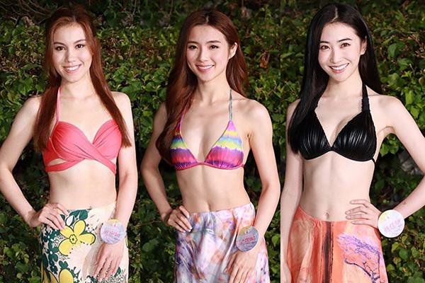 Thí sinh Hoa hậu Hong Kong khoe sắc với bikini