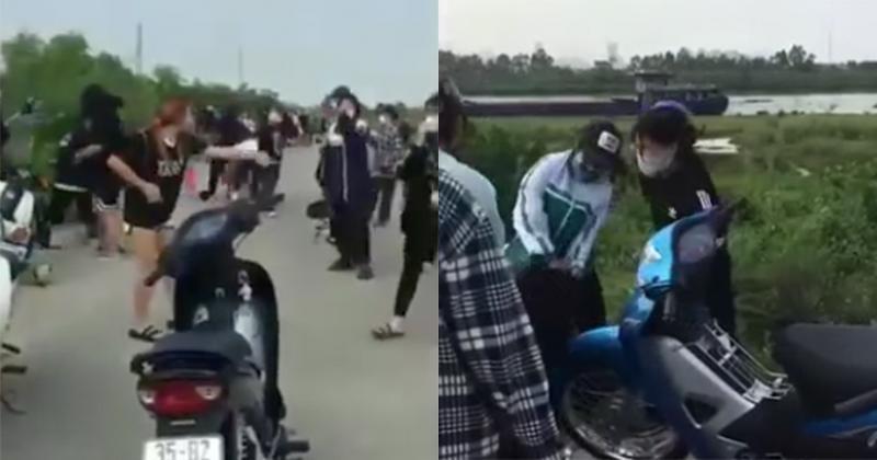 Danh tính 2 nữ quái cầm đầu 50 người gây hỗn chiến ở Ninh Bình-1