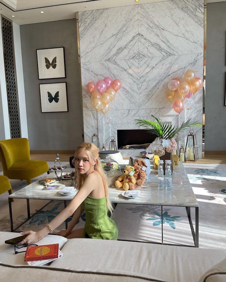 BLACKPINK Rosé nghỉ ngơi ở khách sạn hơn 400 triệu đồng/đêm-1