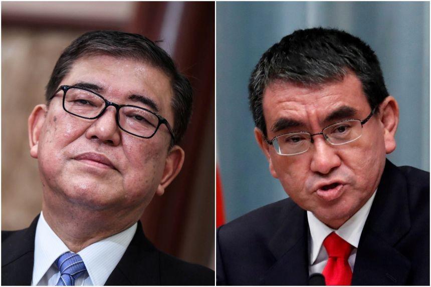 Ông Ishiba không nhập đường đua tới ghế Chủ tịch LDP, Bộ trưởng Kono đề nghị  'miếng bánh ngon'. (Nguồn: Reuters)