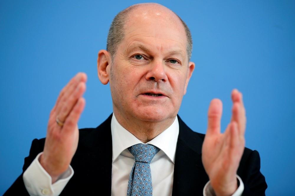 (09.13) Phó Thủ tướng, Bộ trưởng Tài chính Olaf Scholz được cho là ứng cử viên hàng đầu trong cuộc đua kế nhiệm bà Angela Merkel. (Nguồn: EPA)