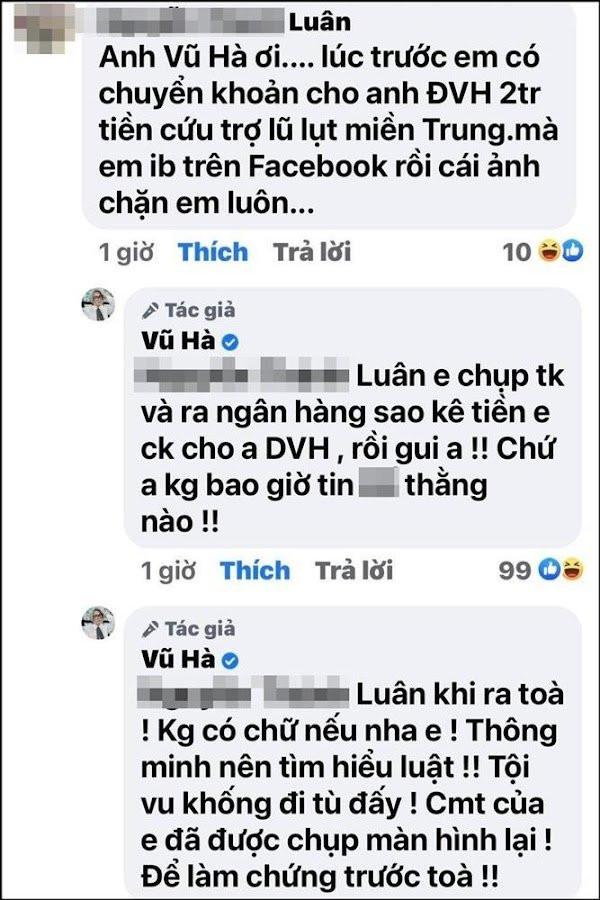 Vũ Hà mắng khán giả để bênh Đàm Vĩnh Hưng khi vướng 'sao kê': 'Con nít ranh, đa nhân cách'