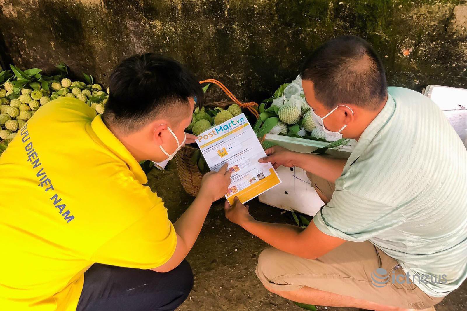 Doanh nghiệp bưu chính tăng tốc đưa nông dân lên sàn thương mại điện tử
