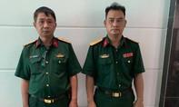 Bắt tạm giam hai đối tượng mạo danh trung tướng và đại úy quân đội