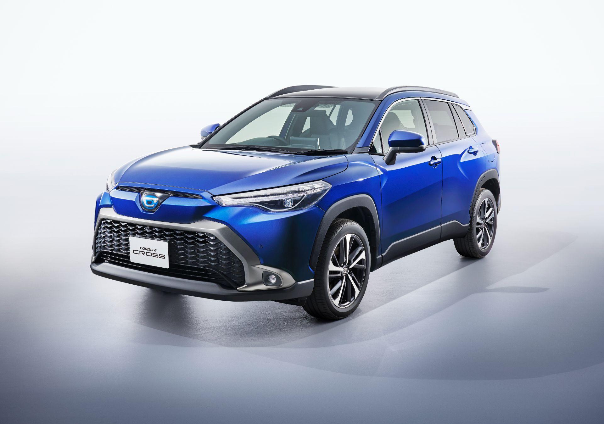 Toyota Corolla Cross 2022 ra mắt tại Nhật Bản được nâng cấp nhiều trang bị