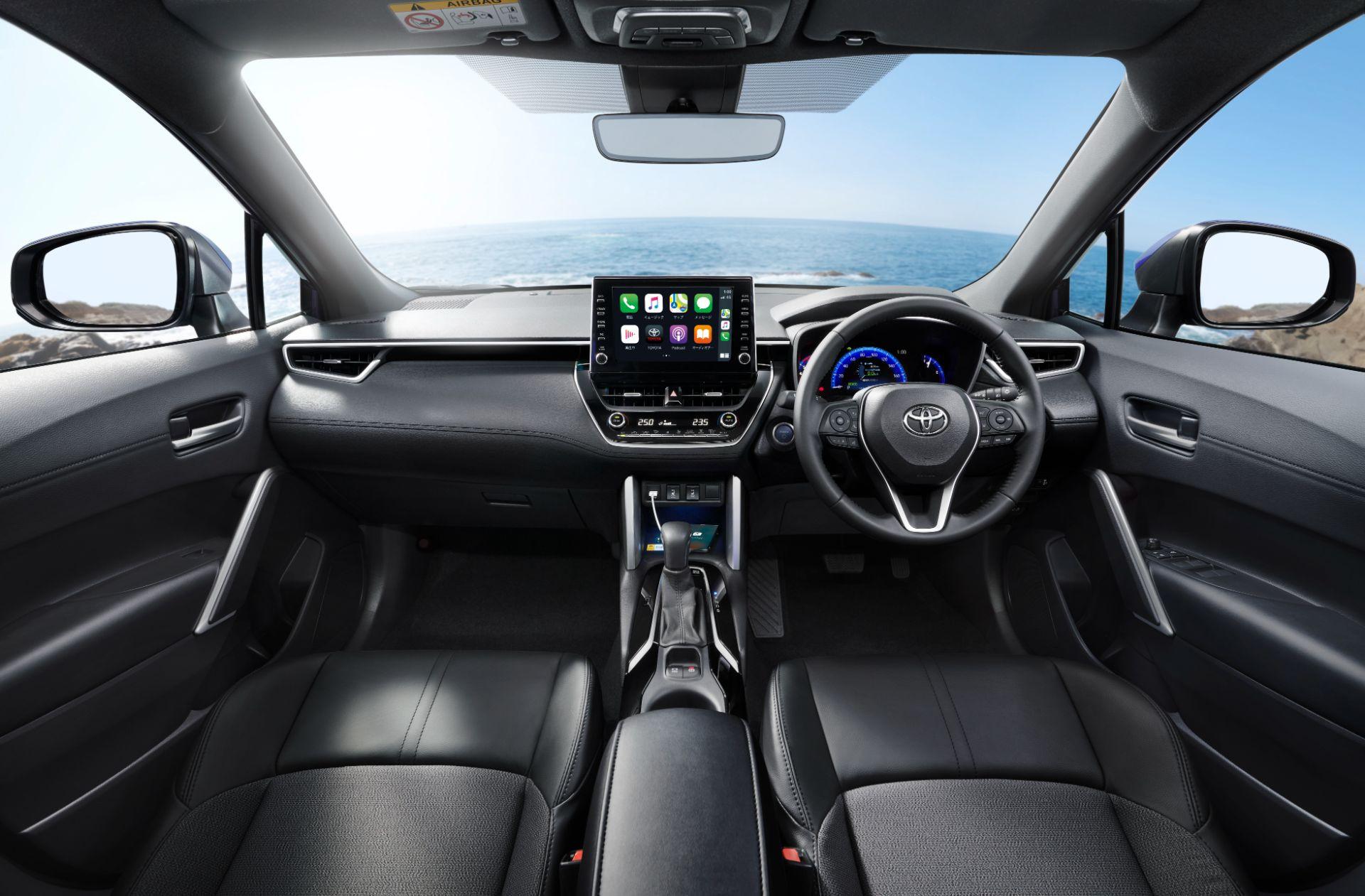 Nội thất Toyota Corolla Cross 2022