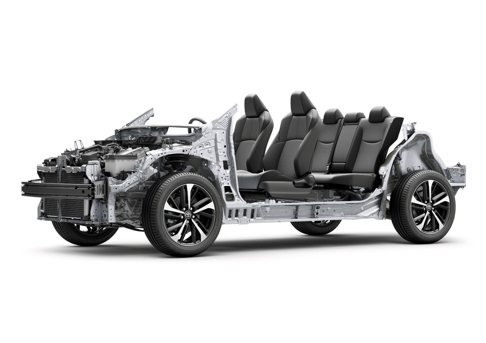 Khung gầm Toyota Corolla Cross 2022