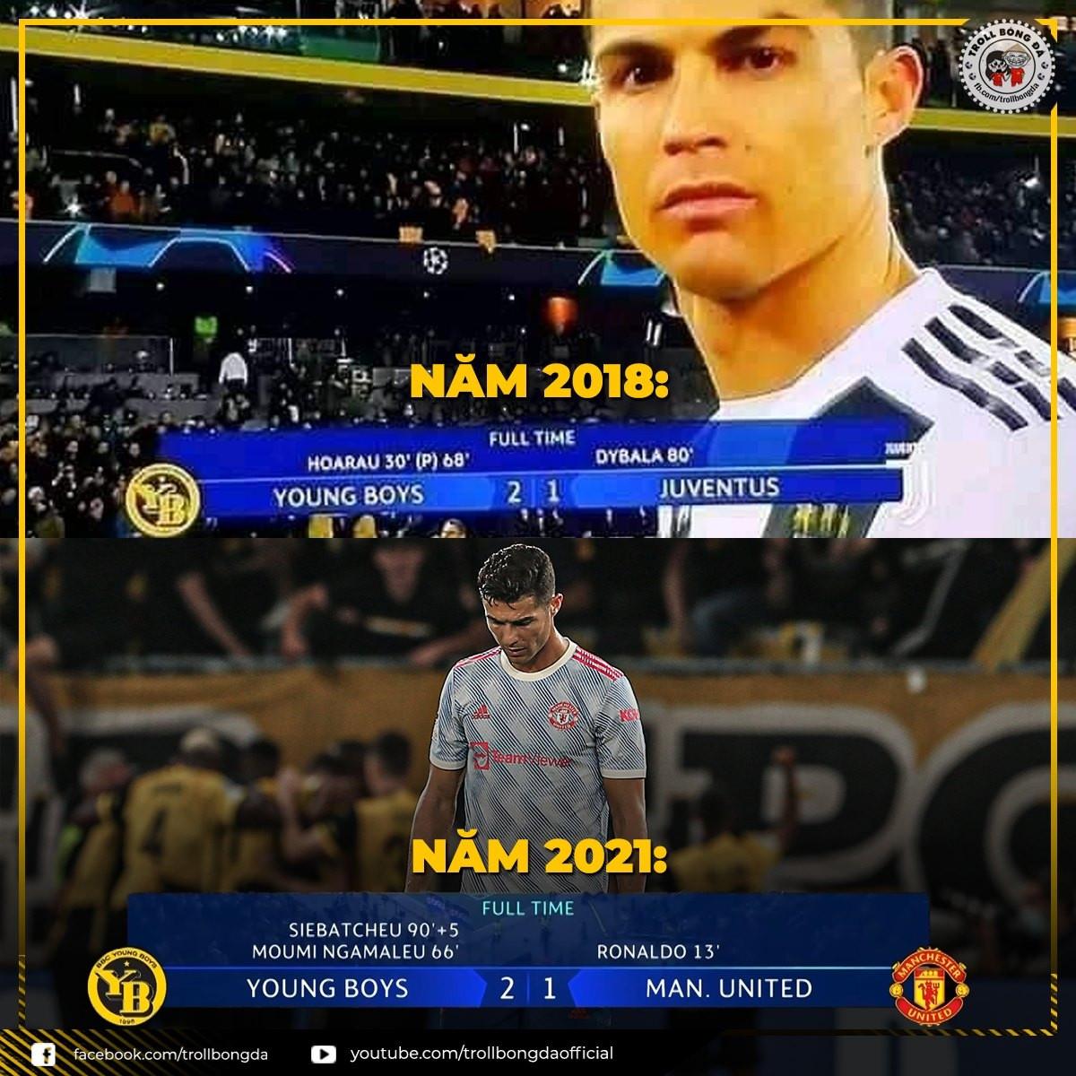 Cristiano Ronaldo lại