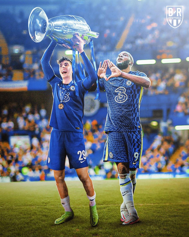 Chelsea thị uy sức mạnh ĐKVĐ Champions League. (Ảnh: Bleacher Reports)