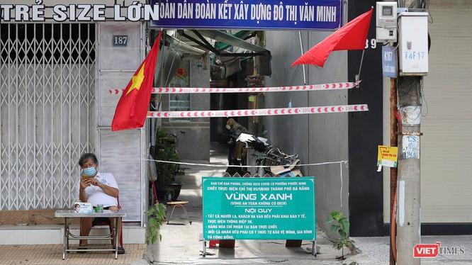 Tổ COVID-19 cộng đồng tại Đà Nẵng phong toả khu phố để bảo vệ vùng xanh