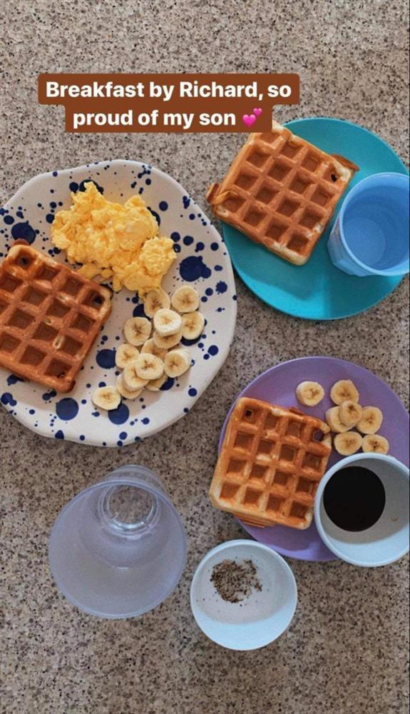 Tăng Thanh Hà khoe bữa sáng do con trai tự làm, thông minh còn chăm chỉ thế này bảo sao ai cũng yêu!-1