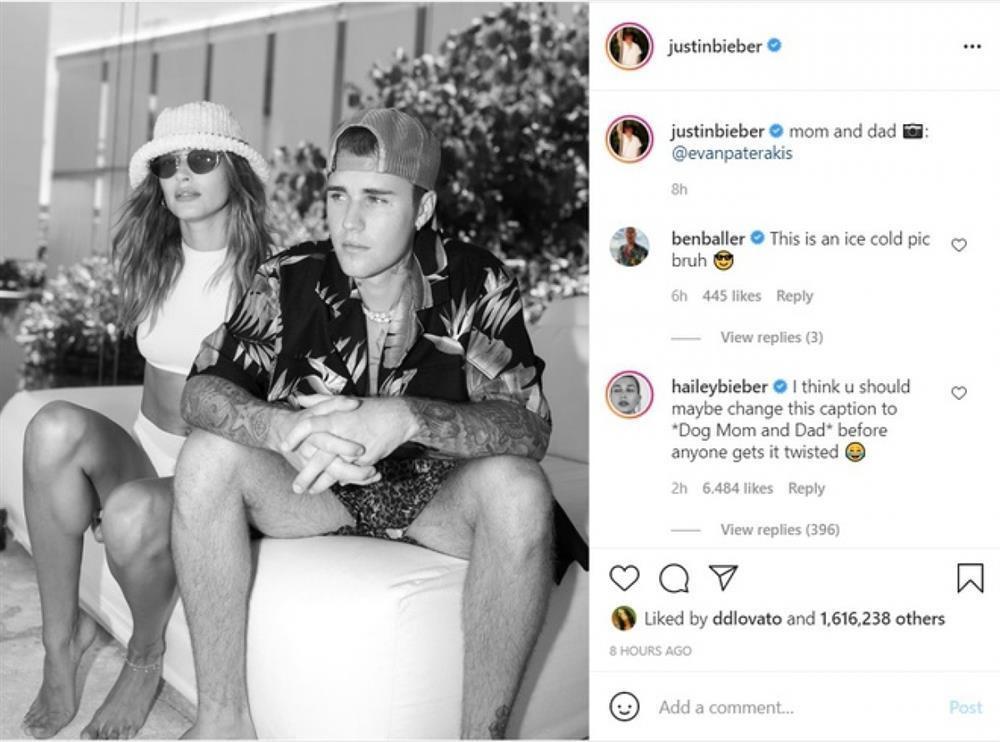 Vợ Justin Bieber bị nghi mang thai-2