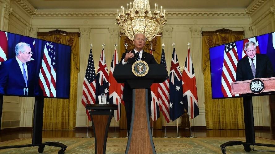 Ấn Độ Dương-Thái Bình Dương: Mỹ-Anh-Australia vừa tuyên bố liên thủ, Trung Quốc lập tức có hành động