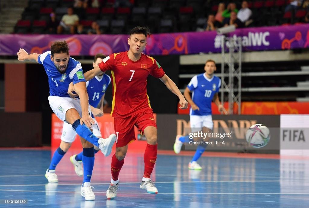 Sau thất bại trận ra quân trước Brazil, đội tuyển Futsal Việt Nam quyết tâm dành ba điểm trước Panama để nuôi hy vọng đi tiếp. (Nguồn: Getty)